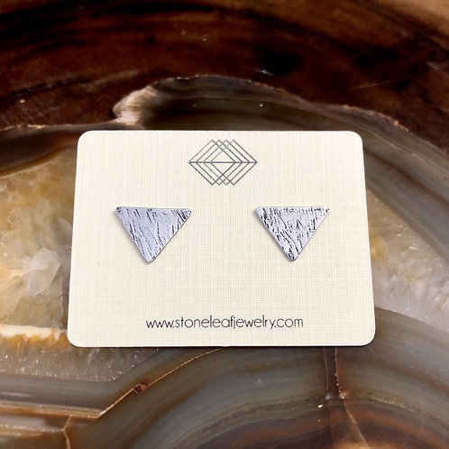 Heavy Texture Triangle Studs - WHOLESALE