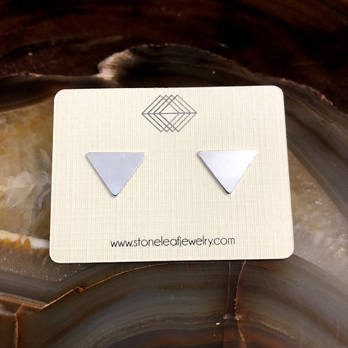 Plain Triangle Studs