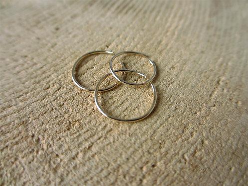 14 Karat Yellow Gold Nose Ring