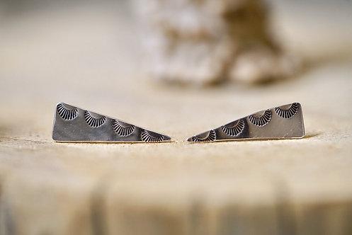 Half Moon Dagger Earrings
