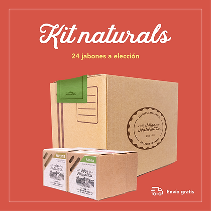 Kit Naturals: 24 Jabones