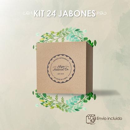 Kit de Distribución: 24 Jabones + Material promocional (digital)