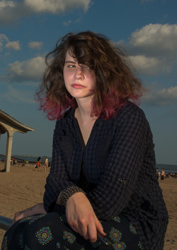 Girl on The Boardwalk / Coney Island