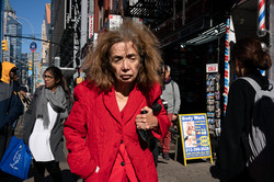 Woman In Red / Midtown