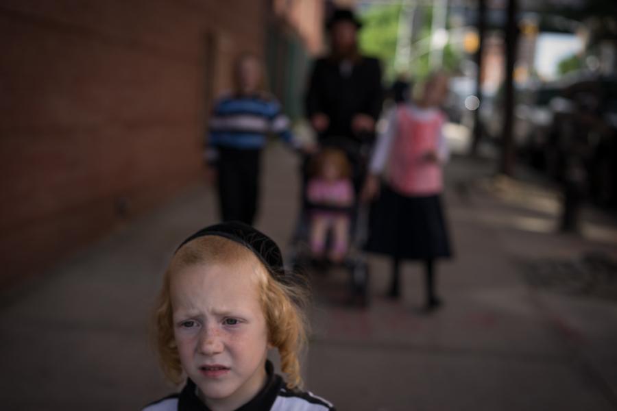 Hasidic Boy