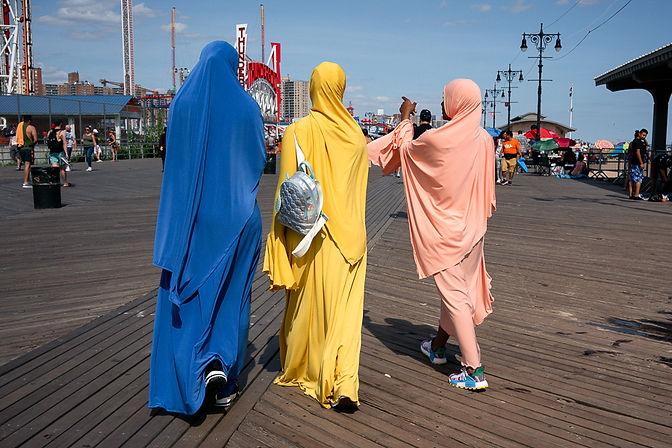 Paul Kessel Street Photography Coney Island Boardwalk