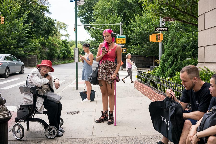 Bus Stop / Upper East Side