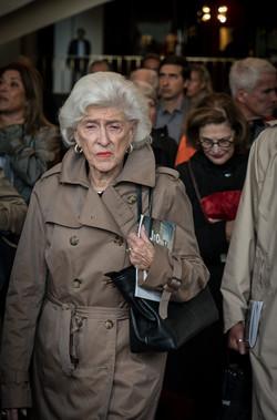 Woman in Trench Coat / Met Opera