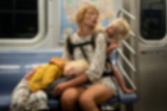 Paul Kessel Street Photography Q Train