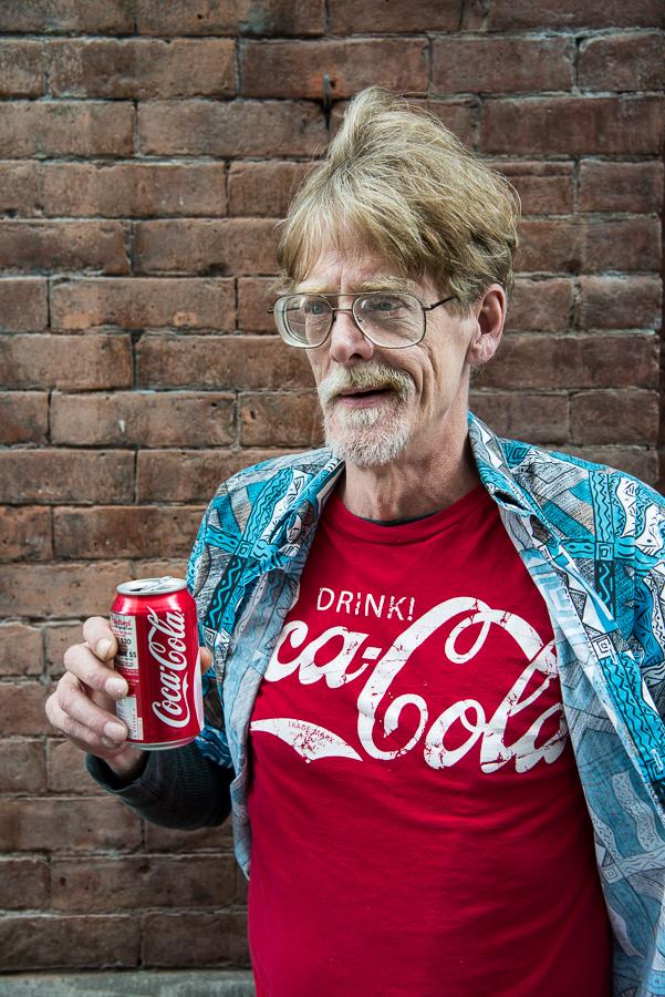 Coca Cola Man / Soho