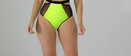 Boat Party Neon Swimsuit