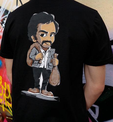Pablo cartoon collection T-shirt 'Money bags'