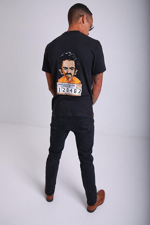 Pablo cartoon collection T-shirt 'Mugshot Pablo'