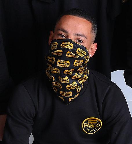 Pablo Clothing logo snood