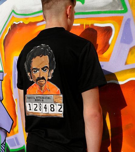 Pablo cartoon youth t-shirt - mug shot