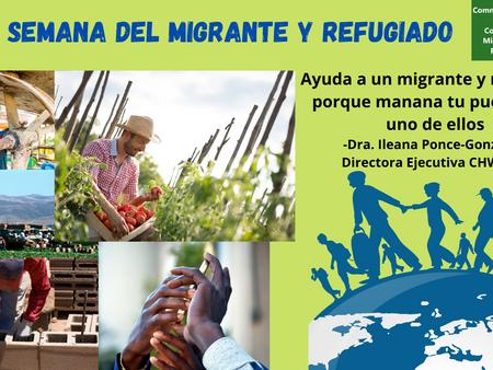 Semana del Migrante y Refugiado