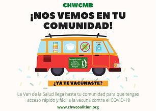 La Van de la Salud llega a tu comunidad
