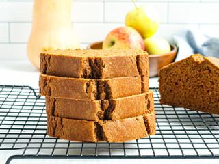 Butternut Squash Apple Bread