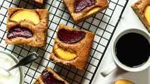 Stone Fruit Snack Cake