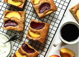 Stone Fruit Snack Cake