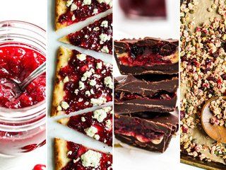 3 Festive Ways to Use Fresh Cranberry Preserves