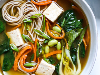 Miso and Greens Soup