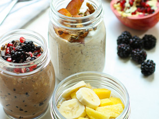 Overnight Oats Three Ways