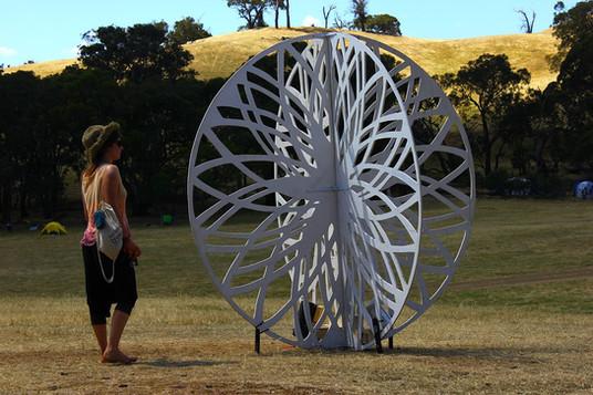 Rainbow Serpent Festival Sculpture