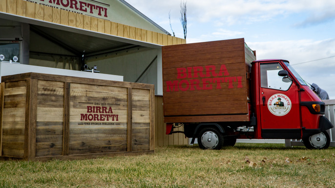 Birra Moretti Brand Activation