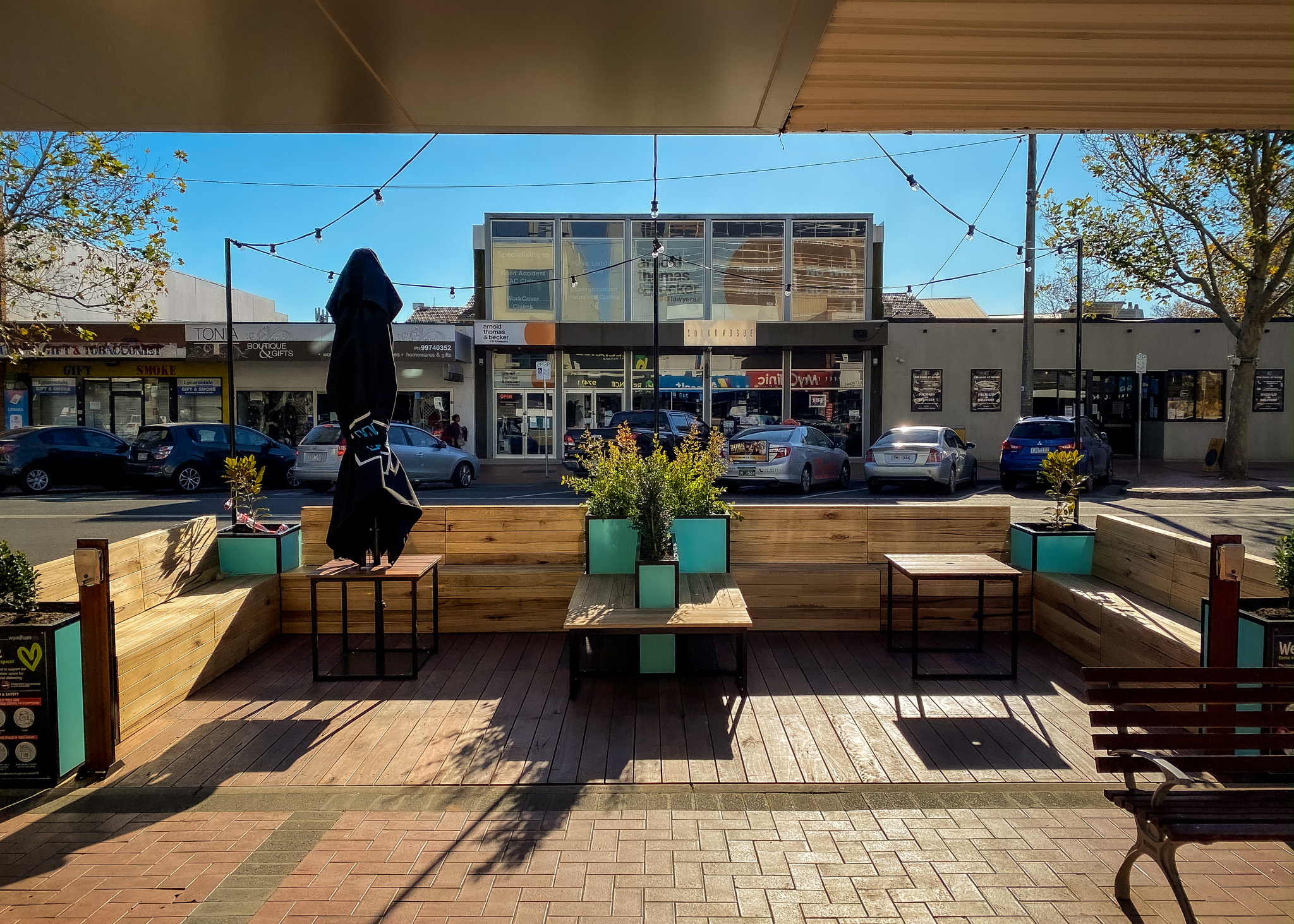 Pop up Parklet