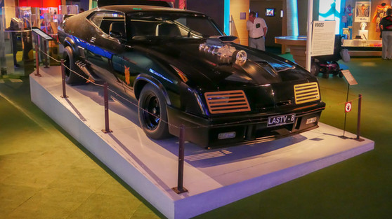 Mad Max - The V8 Interceptor Display