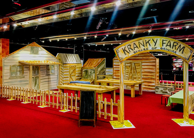 Roald Dahl Kranky Farm Activation