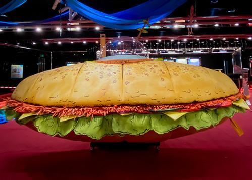 """91-Storey Treehouse"" Giant Foam Sandwich Prop made by Rightside"