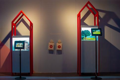 Aardman Studio Exhibition Cabinetry