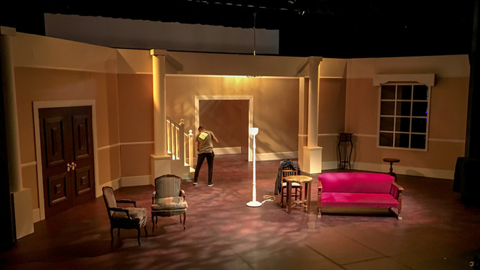 """Theatrical Set Construction  for """"The Man Who Came To Dinner"""""""
