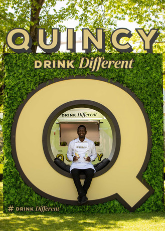 Quincy Brand Activation