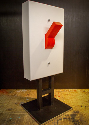 Giant Light Switch Functional Prop