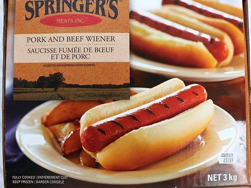 Springers Pork & Beef Wiener
