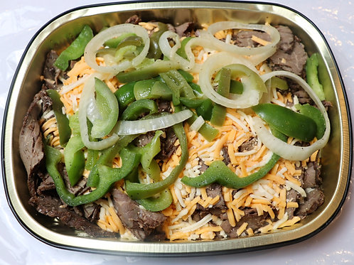 Fresh Steak & Cheese with Sauteed Peppers & Onions