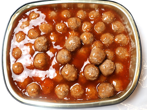 Fresh Sweet & Sour Swedish Meatballs