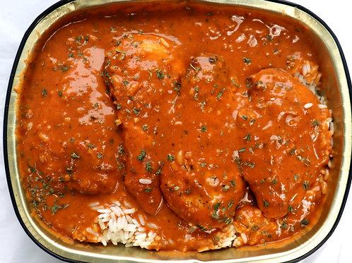 Fresh Buttered Chicken & Rice
