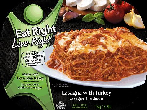 Frozen Lasagna with Turkey