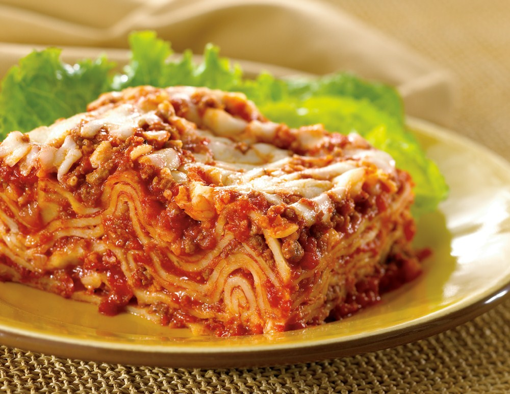 Lasagna Bolognese with Three Cheeses