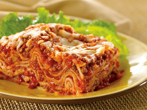 Frozen Lasagna Bolognese with 3 Cheese