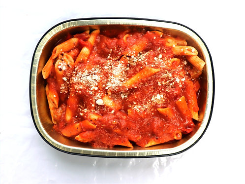 Fresh Penne & Mild Italian Sausage with Roasted Red Peppers