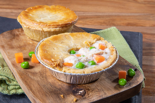 Chicken & Vegetable Pies 4 pack