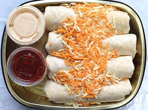 Fresh Chicken & Rice Burrito