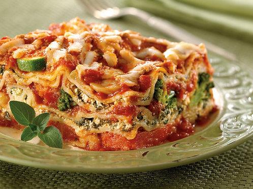 Vegetable Lasagna Italian Style Frozen
