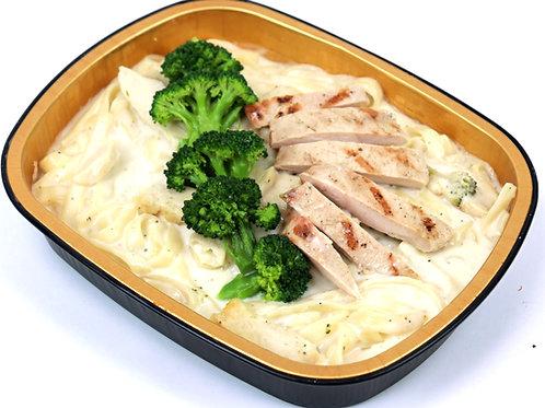 Frozen Fettuccini Alfredo with Chicken & Broccoli