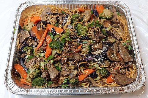 Fresh Beef & Vegetable Lo-Mein
